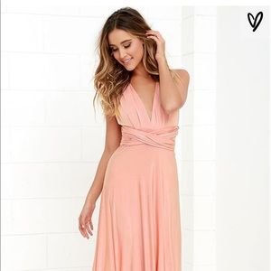 Lulus Always Stunning Convertible Maxi Dress